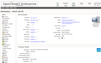 Open-AudIT - The network inventory, audit, documentation and